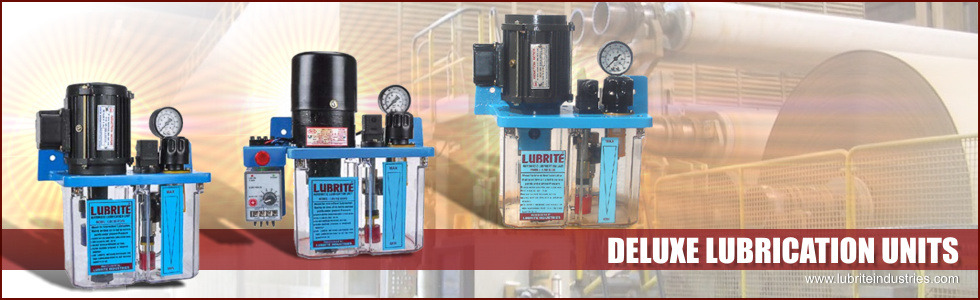 Deluxe Lubrication Units and Pumps
