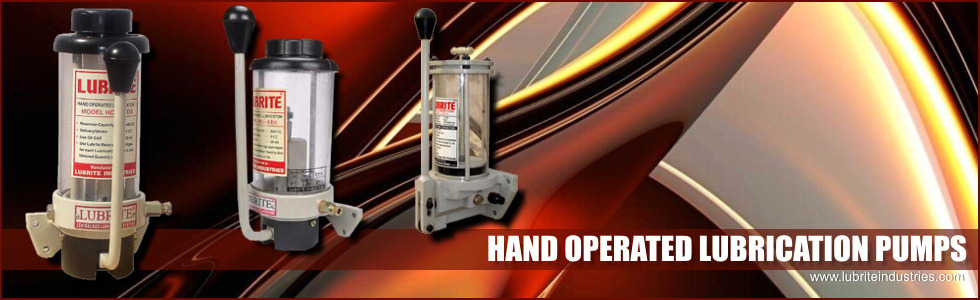 Hand Operated Lubrication Pumps
