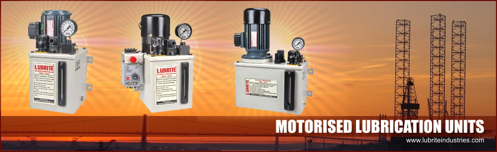 Motorised Lubrication Pumps