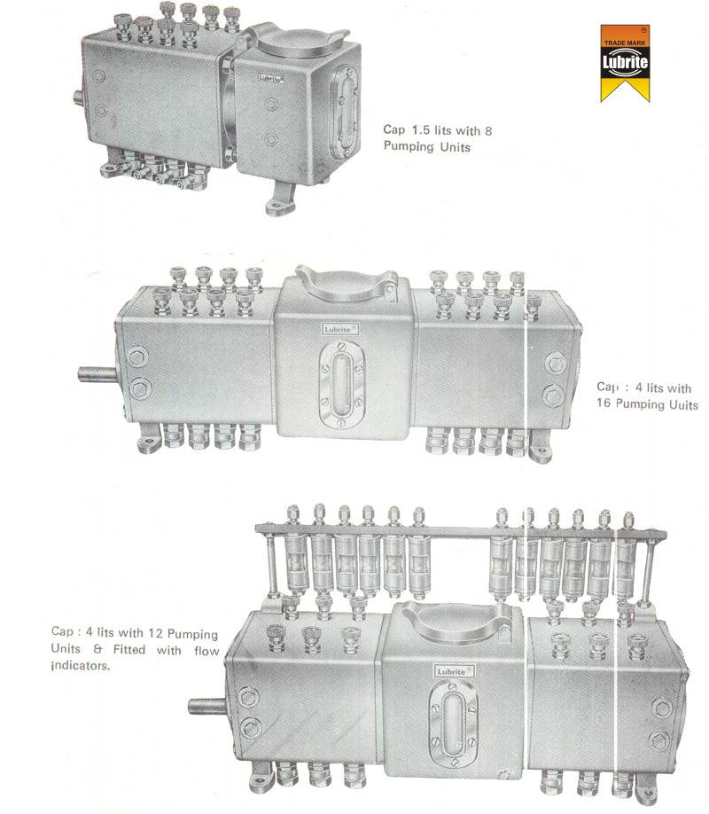 Multiline Mechanical Lubricators by Lubrite Industries
